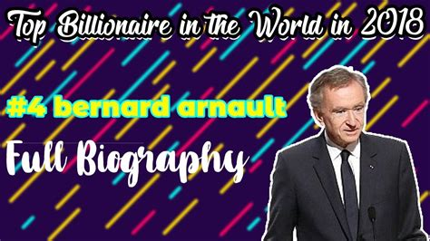 Top #4 bernard arnault billionaire in the world in 2018 ...