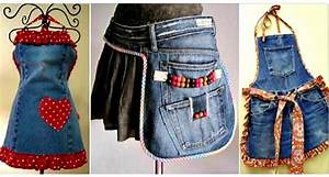Que Faire Avec Des Vieux Jeans : voici quoi faire avec vos vieux jeans faites en des tabliers 13 mod les d couvrir ~ Melissatoandfro.com Idées de Décoration