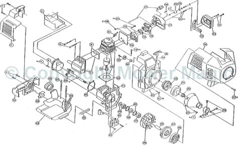 Diagram Of Stihl Tiller Engine by Ryobi Rsb280 Spares