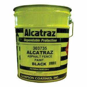Southernstatescom sampson coatings alcatraz asphalt for Asphalt fence paint