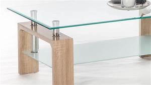 Couchtisch Eiche Glas : couchtisch mano wohnzimmertisch beistelltisch sonoma eiche glas 100 cm ~ Whattoseeinmadrid.com Haus und Dekorationen