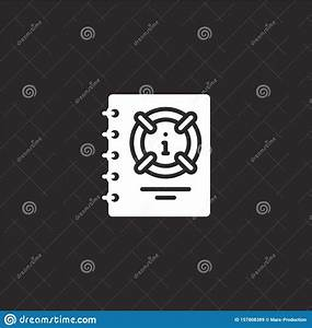 Manual Icon  Filled Manual Icon For Website Design And