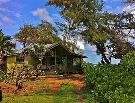 kauai beachfront cottage with acreage and room to grow