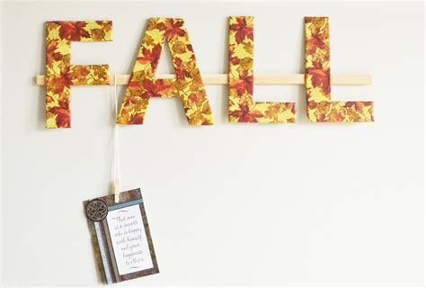 wall decor 2015 create a wall memory holder for fall