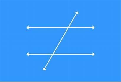 Angles Parallel Lines Exterior Alternate Corresponding Transversal