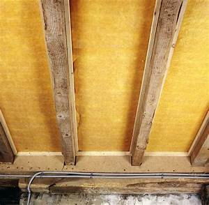 Laine De Verre Phonique : isolation d 39 un plafond par laine de verre entre solives ~ Dailycaller-alerts.com Idées de Décoration