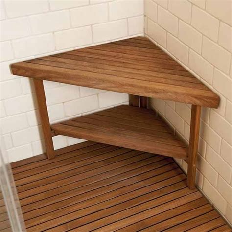 shower bench teak teak shower benches add luxury to your shower