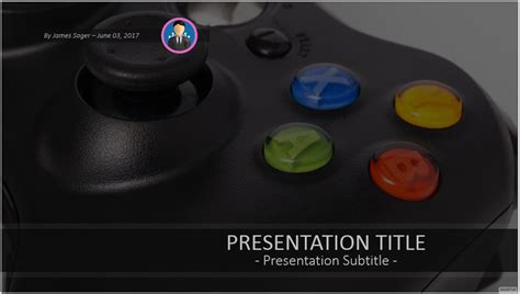 video game powerpoint templates video game powerpoint