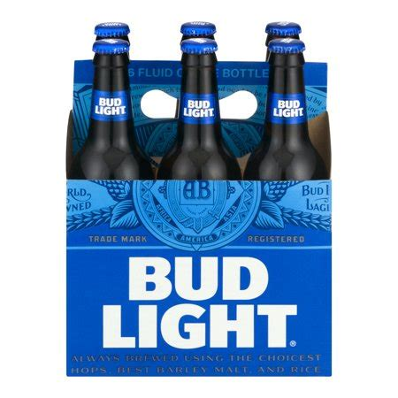 what s the content of bud light bud light 6 pk 16 0 fl oz walmart