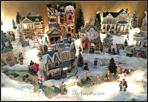 christmas village christmas decorating christmas decor christmas villages pinterest