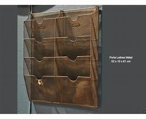 Range Document Metal : porte lettres grillag m tal x8 ~ Teatrodelosmanantiales.com Idées de Décoration