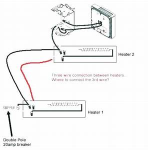 120 Volt Baseboard Heater Thermostat Wiring Diagram For Single