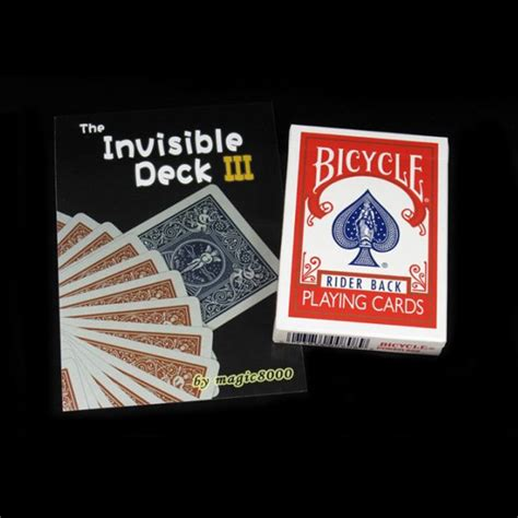 bicycle invisible deck trick buy wholesale bicycle cards from china bicycle
