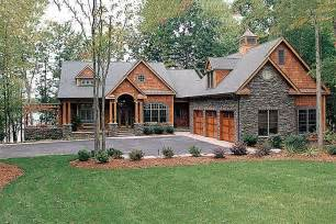 craftsman style house plan 4 beds 4 5 baths 4304 sq ft