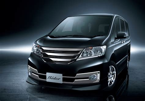 Nissan Serena Wallpapers by Autech Nissan Serena Rider Black Line C26 2011 Pictures