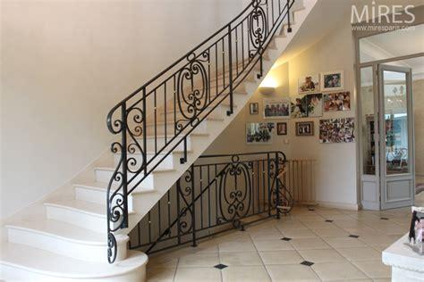 balustrade escalier fer forge re de fer forg 233 et balustrades c0568 mires