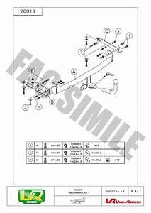 detach towbar universal 7p kit wiring for nissan micra With tow bar wiring kit