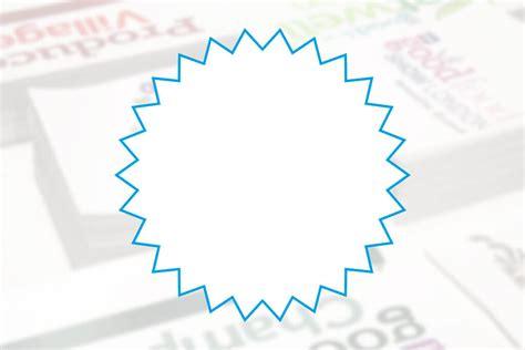 spiky circle stickers print 2 media ltd