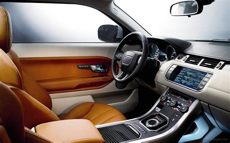 evoque land rover interior 2011 range rover evoque interior wallpaper hd car wallpapers