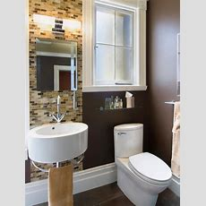 Small Bathrooms, Big Design  Hgtv