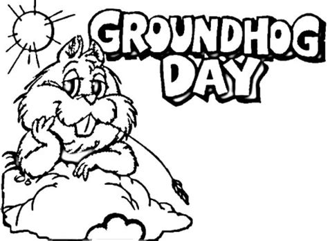 groundhog day coloring pages groundhog day coloring pages learn to coloring