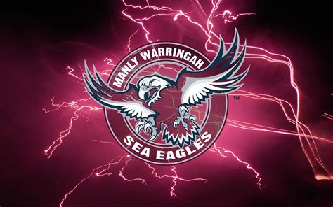 Manly sea eagles wallpaper pictures images photos mp3 & mp4. Manly-Warringah Sea Eagles Lightning Wallpaper by Sunnyboi… | Flickr