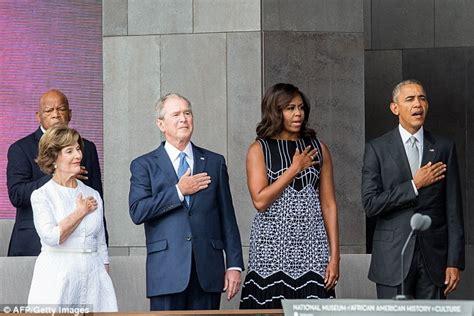 George W Bush Gushes Over Good Friend Michelle Obama