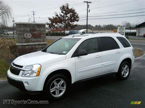 2005 Chevrolet Equinox by 2005 Chevrolet Equinox Lt Awd In Summit White 147897
