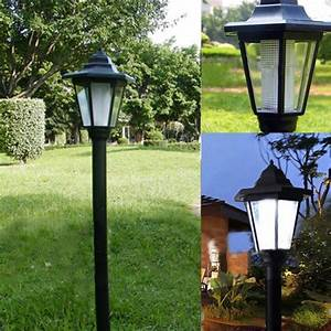 Auto Outdoor Garden LED Solar Power Path Cited Lights ...