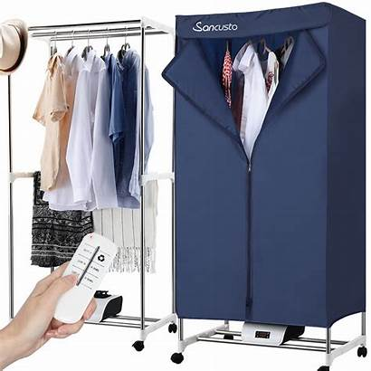 Clothes Dryer Rack Electric Air Drying Wardrobe