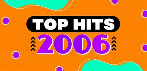 Rockonthenet.com presents the top pop songs of all time ! Top hits 2006 - Playlist - LETRAS.COM