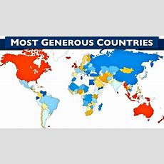 World's 10 Most Generous Countries Youtube