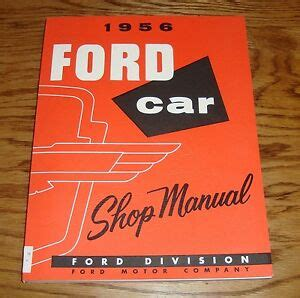 ford shop service manual  thunderbird victoria ebay