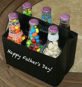 DIY Father's Day Gift - Homemade Six Pack of Treats for Dad!