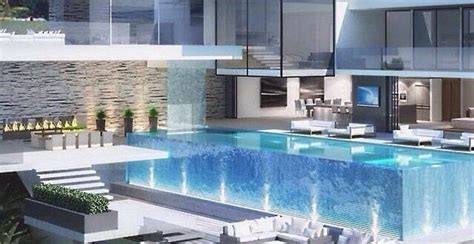 Luxushäuser Mit Pool by Luxus Haus Mit Garage Unter Pool In 2019 Unbedingt
