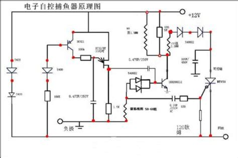 electronic controlled fishing device electrical