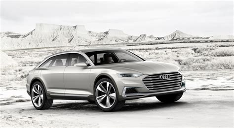 Audi Prologue Allroad Concept Is A Jacked Up Hybrid