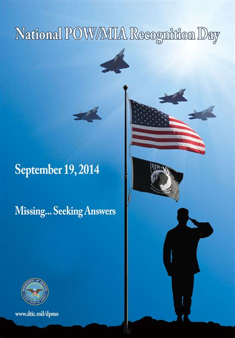 defense powmia accounting agency families posters