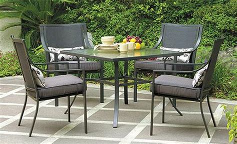gramercy home 5 patio dining table set