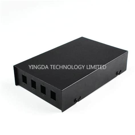 Box Fiber Ornamen sc lc fiber optic termination box 4 port