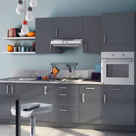 cuisine gris bleu cuisine casto 2013 bleu givré et gris photo 20 20 une