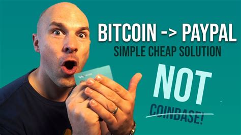 How to withdraw money from coinbase to paypal подробнее. How to transfer Bitcoin to PayPal, without coinbase! - YouTube