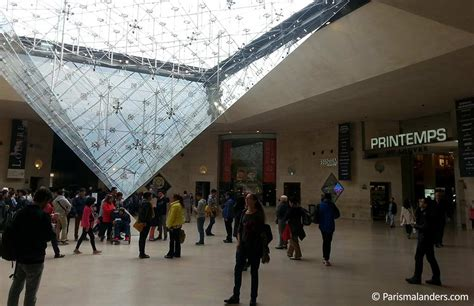 Einganglouvreeinkaufsgaleriecarrousel  Paris Mal Anders