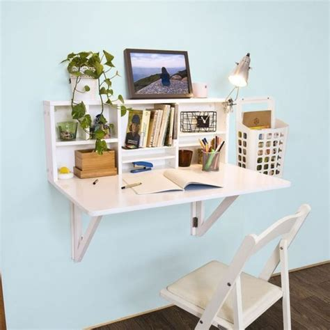 bureau mural rabattable le bureau pliable est fait pour faciliter votre vie