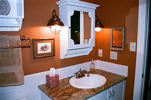 ellen kennon full spectrum paints With kitchen colors with white cabinets with terracotta sun face wall art