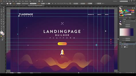 How To Design A Creative Web Layout  Illustrator Tutorial