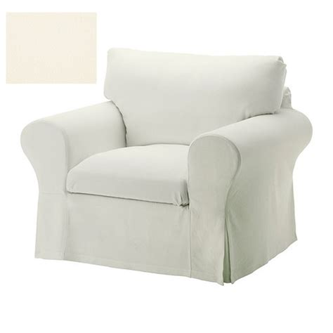 white slipcovered chair ikea ektorp armchair slipcover chair cover stenasa white