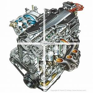 4 Cylinder Car Engine Diagram