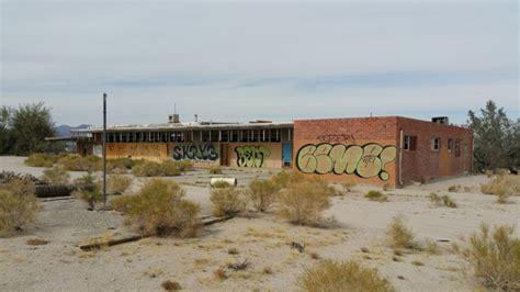 sprawling ghost town  desert center part