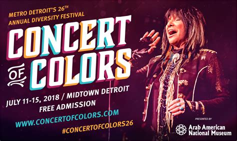 concert of colors 26th concert of colors set for july 11 15 2018 access